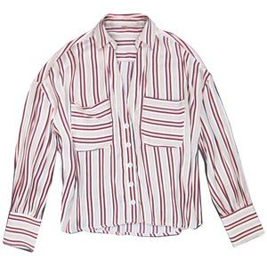 Free People S Mad About You Button Up Shirt FLAW